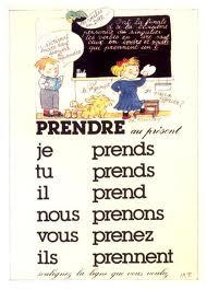 Le Verbe Prendre Le Coin De Francais