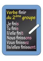 Les Verbes Du Deuxieme Groupe Le Coin De Francais