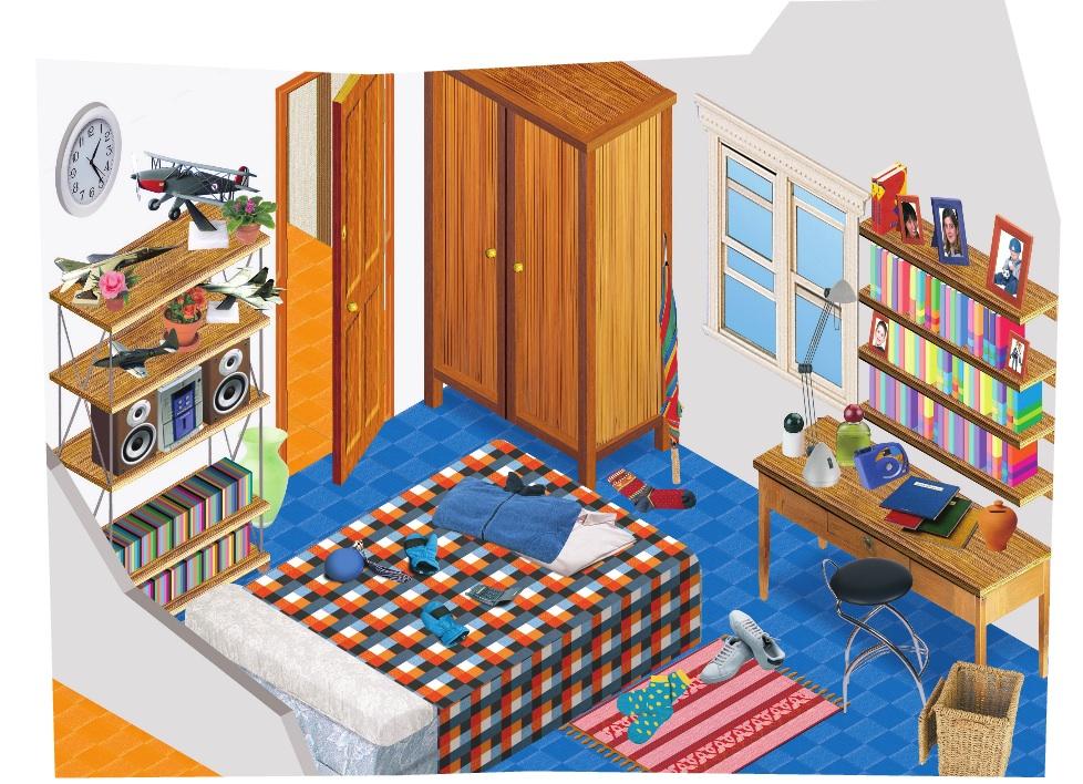 La description de ma chambre le coin de fran ais for Description d une chambre de fille