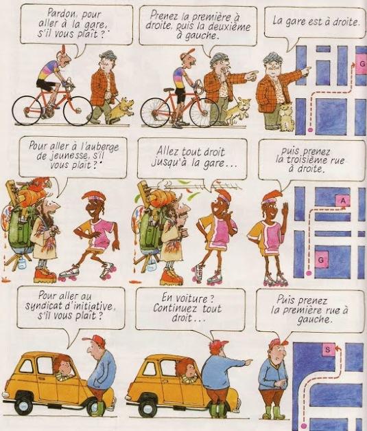 indicare itinerario